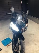 Ninja250_ABS_Special_Edition中華製 LEDヘッドライト H7の単体画像