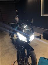 Ninja250_ABS_Special_Edition中華製 LEDヘッドライト H7の全体画像