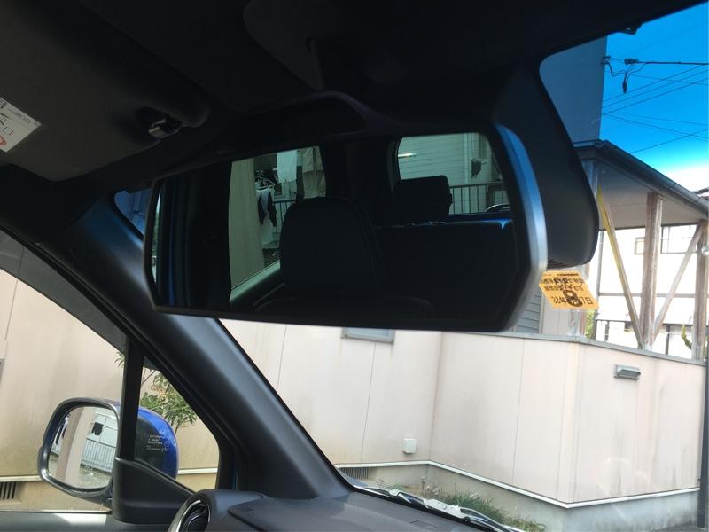 [CAR MATE / カーメイト] 3000R パーフェクトミラー 純正風フォルム 278mm ブラック / M25