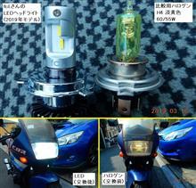 CBR250 FOUR (フォア)(株)WiNEEDS HOLDINGS  fcl. バイク用・高光量LEDヘッドライト(2019年モデル、ファンタイプ、H4)の単体画像