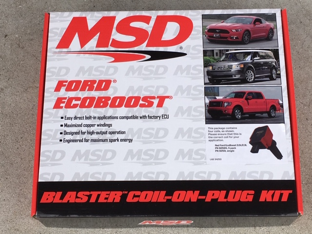 MSD MSD Coil Packs Red Set for EcoBoost