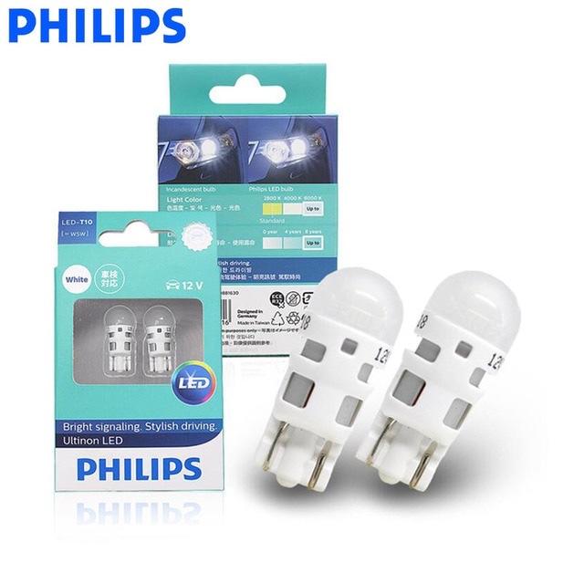 PHILIPS Ultinon LED White light 6000K T10