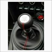 TRD / トヨタテクノクラフト 本革巻きシフトノブ MT車用