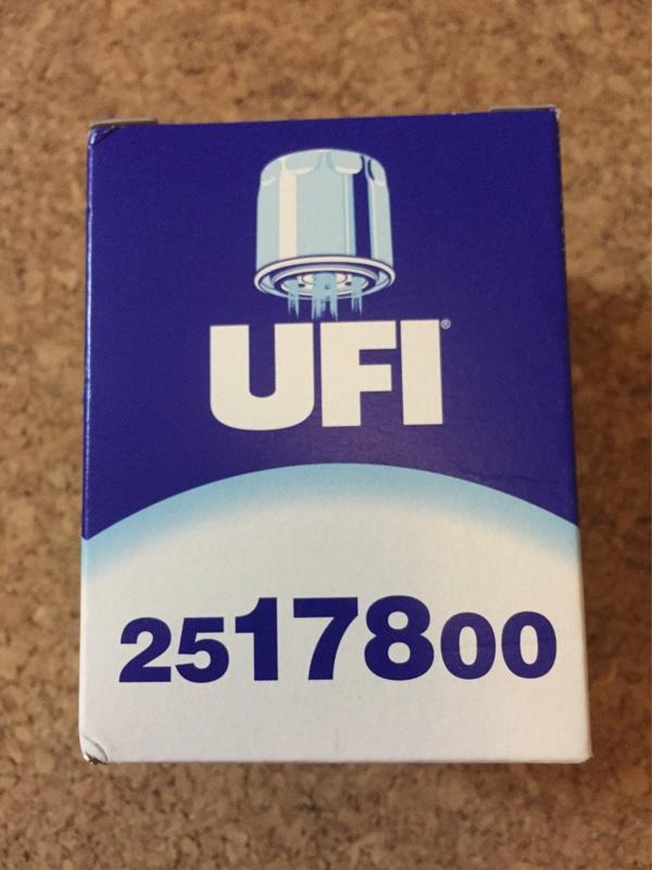 UFIフィルター UFIフィルター 982