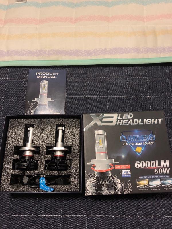 PHILIPS LEDヘッドライト PHILIPS 新型 2nd G ZES チップ 6000Lm×2 12000ルーメン