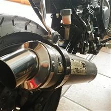 エイプ50 タイプDヨシムラ APE100用 チタンカーボンの単体画像