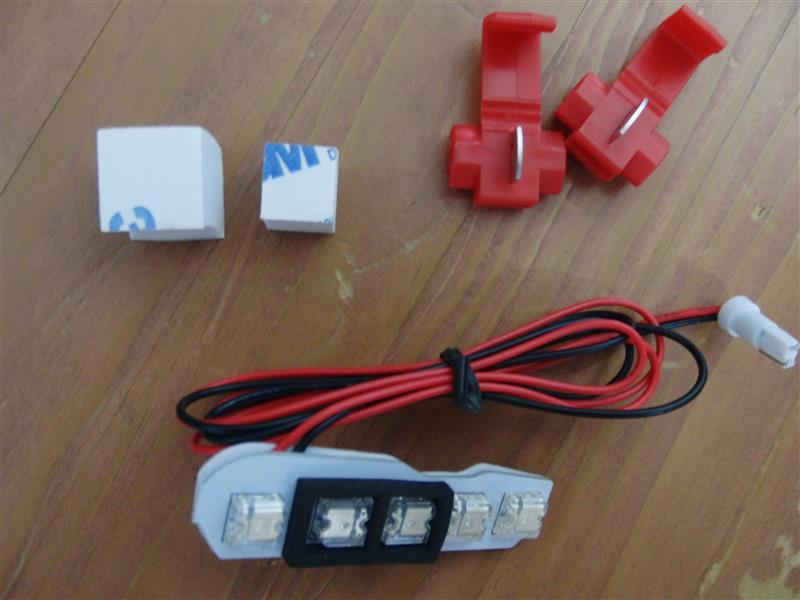 不明 LEDシフトポジション ブルー