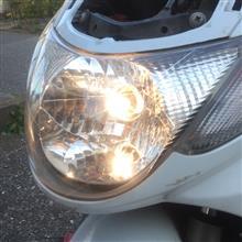 アドレス110RAYBRIG / スタンレー電気 ヘッドランプ球 R208の単体画像