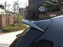 Cクラス ステーションワゴン中華製不明 リアルーフスポイラーの単体画像