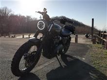 """ストリートスクランブラーHOGWORKZ 7"""" LED Black HaloMaker Headlight (Harley Daymaker Replacement)の全体画像"""
