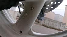 XJR400Rヤマハ(純正) XJR400R用ホイールの全体画像