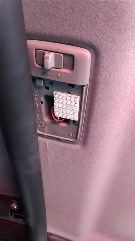 秋月電子通商  白色LEDルームランプ5x6(34mmx42mm)(30LED)
