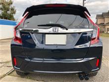 フィット3 ハイブリッドModulo / Honda Access テールゲートスポイラーの単体画像