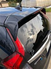 フィット3 ハイブリッドModulo / Honda Access テールゲートスポイラーの全体画像