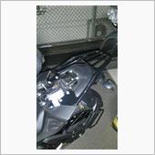 Chapam Bagageiro Tubular Suporte de Bauleto  Yamaha FZ25