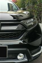CR-V海外 グリルカバー カーボン調の全体画像
