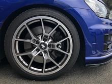 ゴルフ R ヴァリアントNEUSPEED RSe10 Light Weight Wheel - 18X8.0 45ET - Hyper Blackの全体画像