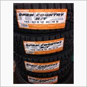 TOYO TIRES OPEN COUNTRY R/T 145/80R12 80/78N