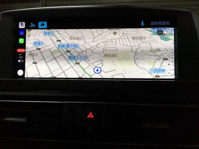 BMW純正 Apple CarPlay Yahoo! カーナビ