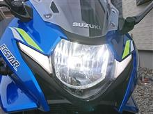GSX250RWin Power LEDヘッドライト H4 hi/lo切替 6500k 5400lmx2 冷却ファン内蔵 オールインワンの単体画像