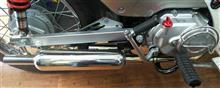 スーパーカブ110プロTAKEGAWA キャブトンマフラーの単体画像