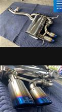 1シリーズ クーペARQRAY ワンオフマフラーの単体画像
