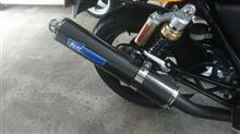 CB400SF Ver.STSR スリップオンサイレンサー カーボンの単体画像