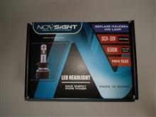 フリード モデューロXNOVSIGHT HB3 一体型LEDヘッドライトの単体画像