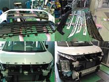 デリカD:5三菱自動車(純正) フロントグリルの単体画像