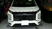 デリカD:5三菱自動車(純正) フロントグリルの全体画像