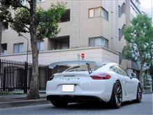 ケイマンオリジナル  GT4専用リアウイング・ハイマウントステーの全体画像