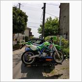 不明 ヒッチメンバーバイクキャリア