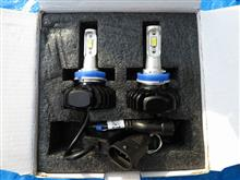 OPPLIGHT H16 LEDフォグランプ 3000K 6000K 6000LM ファンレス 2色切替タイプ