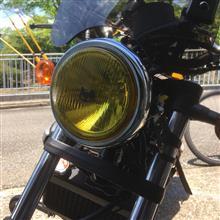 レブル汎用品 旧CB 400用っぽいの全体画像