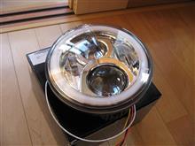 CB400 Super Four Hyper V-tec RevoOVOTOR  ホンダ CB400他 7インチLEDヘッドライト メッキリフレクターの単体画像