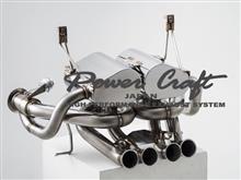 アヴェンタドール ロードスターPower Craft ハイブリッドエキゾーストマフラーシステムの単体画像