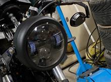ゼルビスunknown ヘッドライト 6.5inchの単体画像