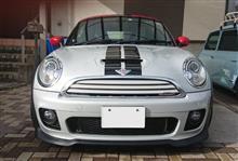 MINI Coupe純正ワン用 シルバーホワイト同色の単体画像