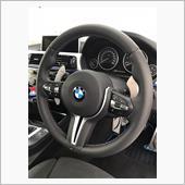 BMW(純正) M2,3,4純正ステアリング+純正ステアリングスポークカバー