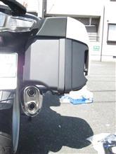 R1200RT LCアールズギア フルエキゾーストマフラー ワイバンチタンサイレンサーの全体画像