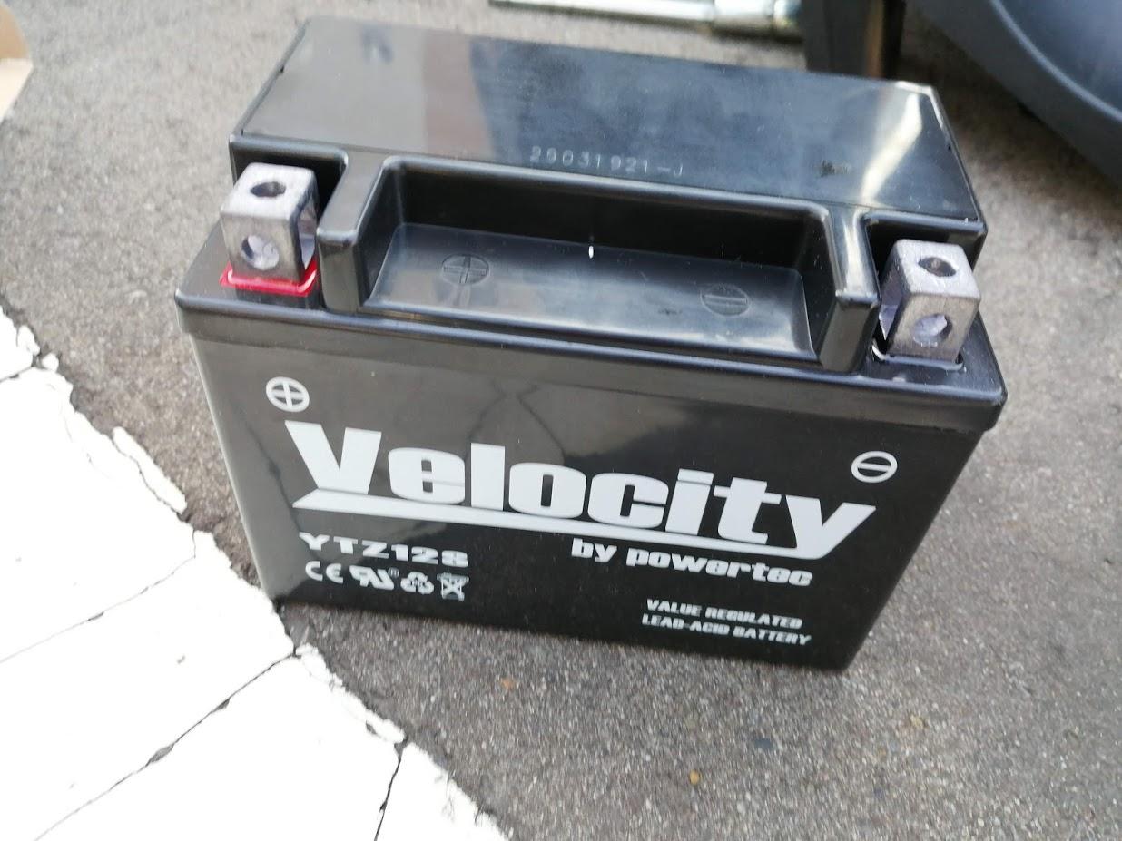 Velocity YTZ12S