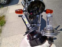 SRX4不明 LEDヘッドライトの全体画像