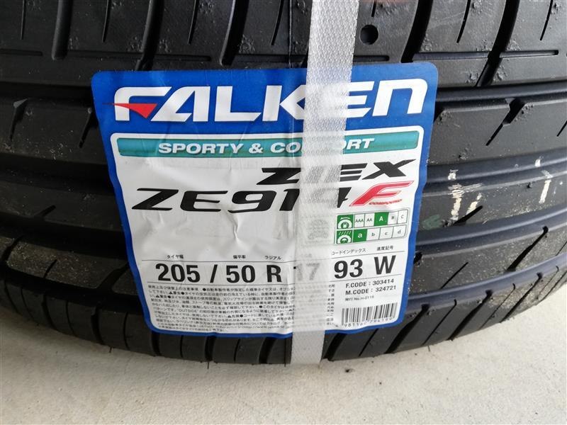 FALKEN ZIEX ZIEX ZE914F?205/50R17