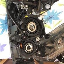 ランサーエボリューションIX北米三菱自動車(純正) エボ9USヘッドライトの全体画像