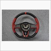 Leather Custom FIRST E12ノートNISMOステアリング革巻き加工