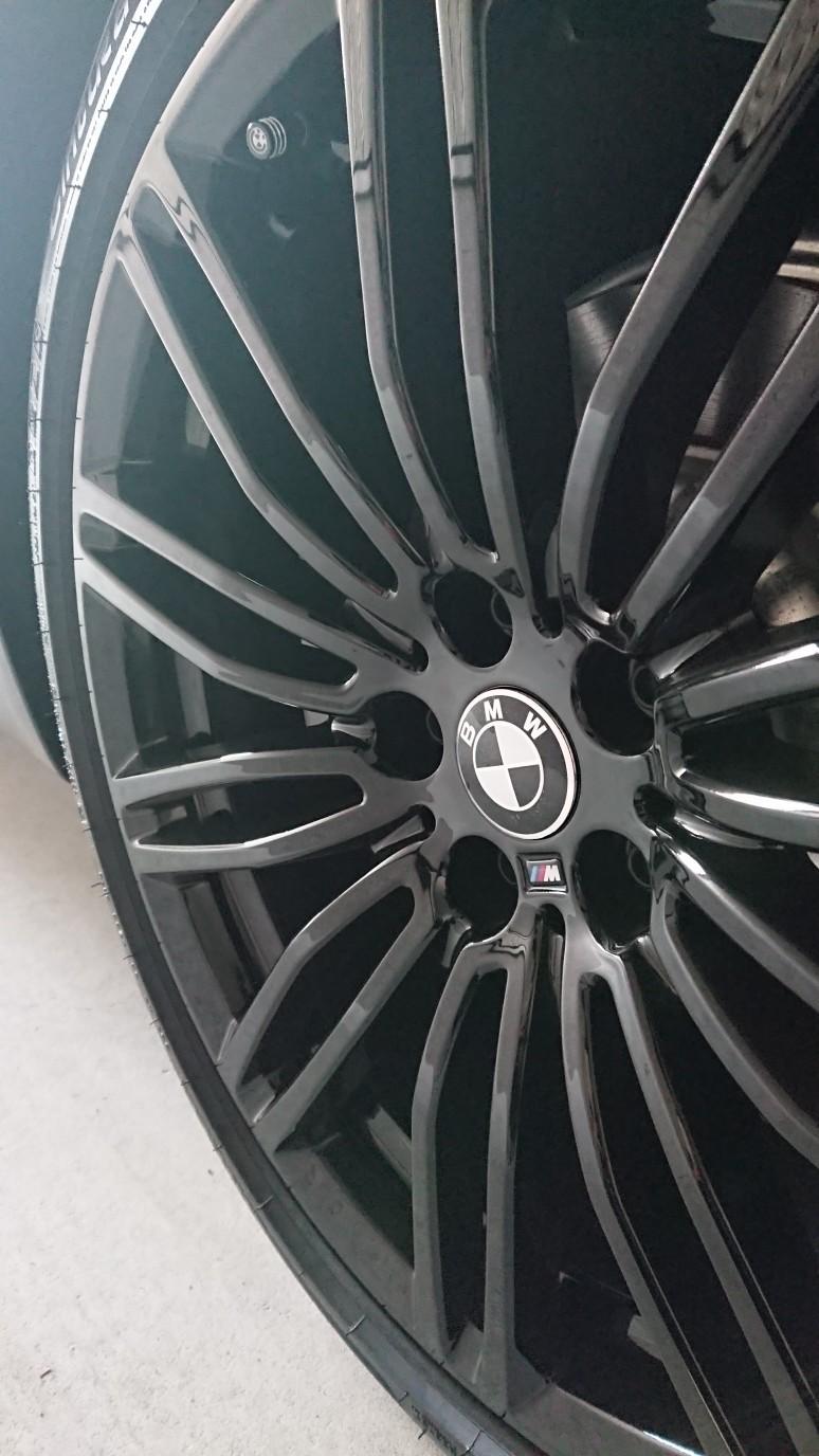 BMW(純正) Mライト・アロイ・ホイール ダブルスポーク・スタイリング664M ジェットブラック