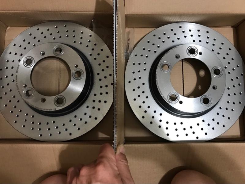Brembo 09.C880.11 Front Disc Brake Rotor