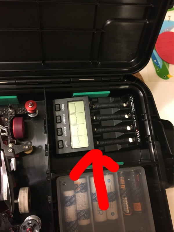 HITEC X4ミニ充電器