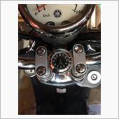 不明 バイク用アナログ時計