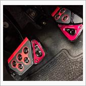 CAR MATE / カーメイト GT SPEC PEDAL SET AT-SS レッド / RP109RE